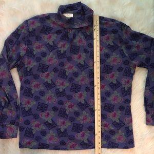 Pendleton Tops - VTG • PENDLETON • floral long sleeve blouse
